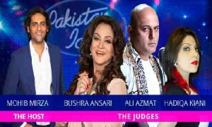 Host Judges in Pakistan Idol GEO TV