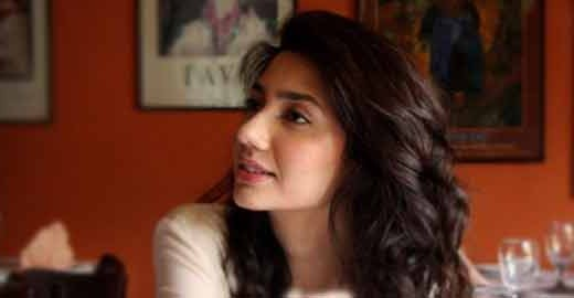 Actress Mahira Khan