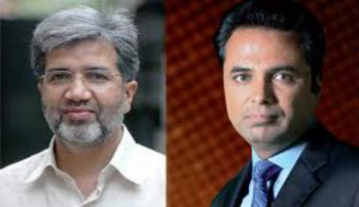 Ansar Abbasi and Talat Hussain