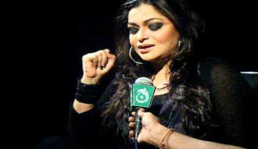 Singer Naghmana Jaffery