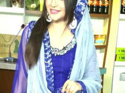 TV Host Rafiya Rafiq