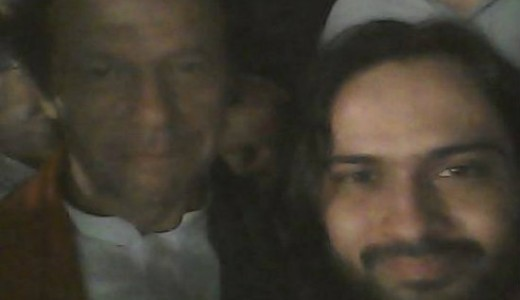 Waqar Zaka and Imran Khan