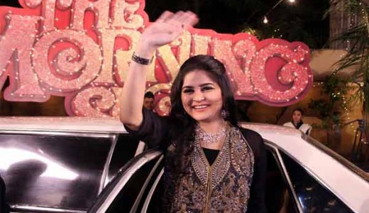 Sanam Baloch in The Morning Show of ARY News