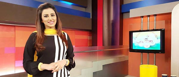 Host and anchor Madiha Naqvi