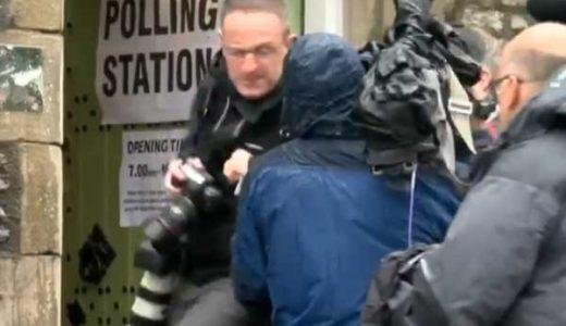 Journalist fighting